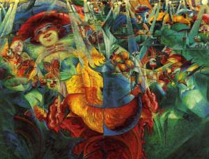 La risata di Umberto Boccioni - Descrizione dell'opera e mostre in ...