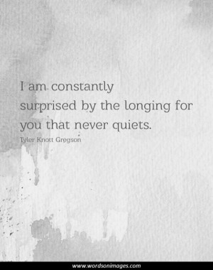 Longing quotes