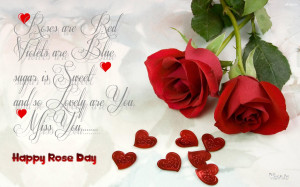Images with Quotes for Friends on Rose day for Someone Special