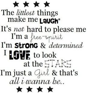 Just a Girl Quote Pictures, Images and Photos