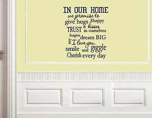 In-Our-Home-We-Promise-To-Give-Hugs-Vinyl-Quote-Me-Wall-Art-Decals ...