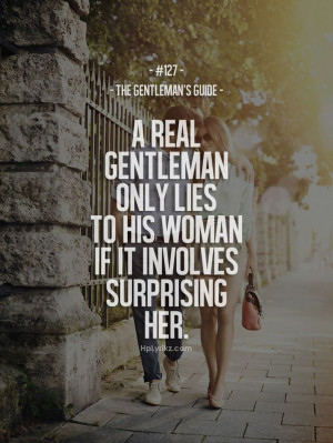 Surprise me, baby.   Hp Lyrikz   A Real Gentleman Quotes