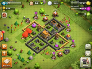 clash of clans hack no survey - 8688888 GEMS FREE HD Wallpaper