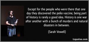 People Who Were There That One Day They Discovered The Polio Vaccine