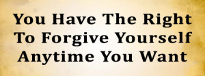 Tips on How to Forgive Yourself or How Life Is Like A Hot-White ...