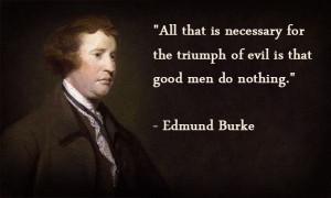 Edmund Burke quote
