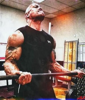 WWE Dwayne The Rock Johnson workout Secret