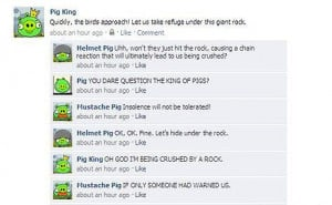 Angry birds statuses