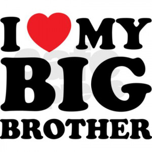 Love My Big Brother Quotes Tumblr Love my big brother bib by