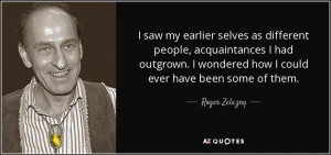 Quotes by Roger Zelazny