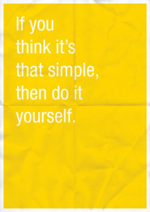 Do it yourself quote