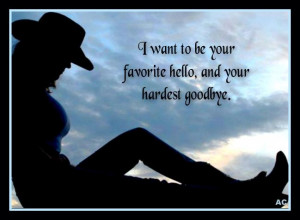 quote about saying hi and goodbye