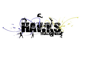 Hawks Track and Field Design by KT-That-Me