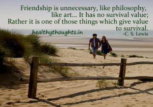 Friendship in Words Of C. S. Lewis