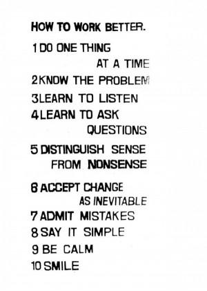 Learn to Listen.