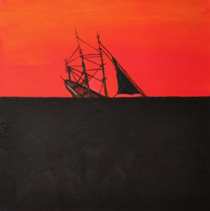 Adrift,' a solo exhibition by Los Angeles based artist Joshua Petker ...