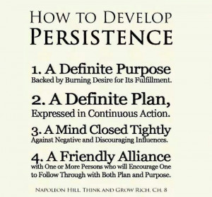 ways to build Persistence. #motivation