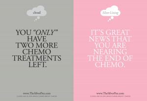 chemo in the same sentence for the record only and chemo should never ...