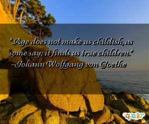 Childish Quotes