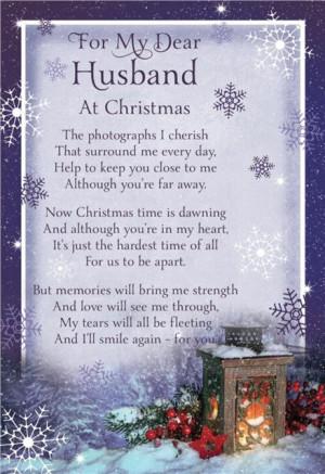 Missing My Husband At Christmas
