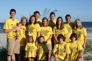 This is the Tucker family. We had a wonderful Family Beach Vacation ...