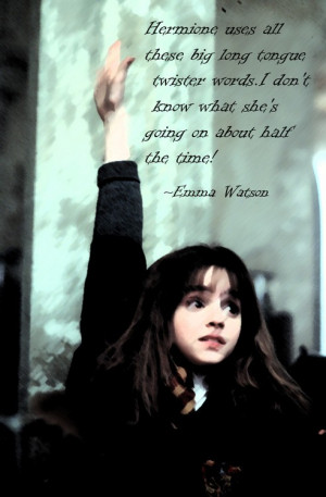 Emma watson, quotes, sayings, harry potter