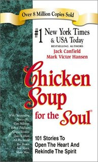 Chicken soup for souls, now who could use a bowl?