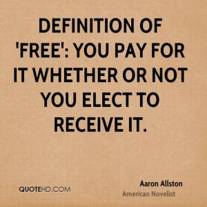 Aaron Allston Quotes