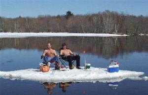 Ice fishing humor