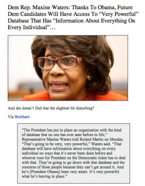 Maxine Waters quote