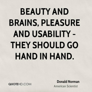 Donald Norman Beauty Quotes