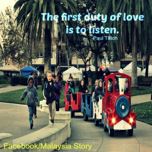Malaysia Story- Inspirational Love Quotes May Part I