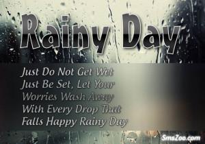 Happy Rainy Days Quotes Happy rainy day!