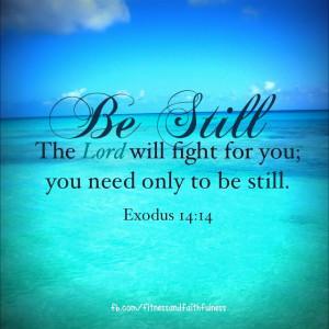 ... Quotes, Exodus 14 14, Exodus 1414, Favorite Vers, Bible Verse, Faith