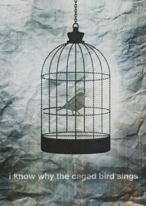 Know Why The Caged Bird Sings - Freedom Quote