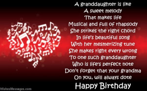 Happy 13th Birthday Granddaughter Quotes. QuotesGram