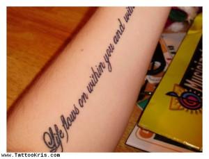 tattookris : Tattoo Kris