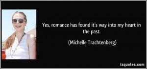 More Michelle Trachtenberg Quotes