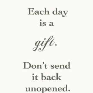 Life is a Gift~