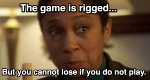 You cannot lose - Marla