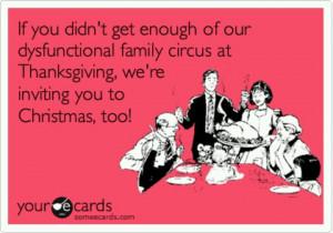Crazy family Holidays