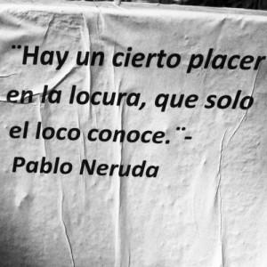 crazy, insane, neruda, pleasure, quotes, spanish quotes, text
