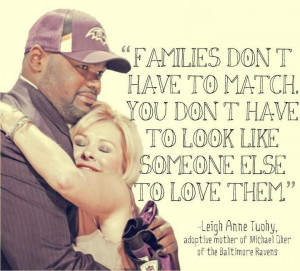 The real mother and adopted son from the move The Blind Side. Love ...