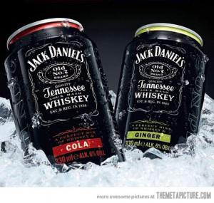 funny Jack Daniels cans