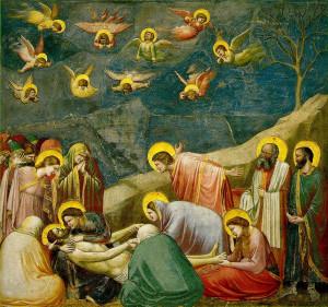 Giotto di Bondone - Lamentation (The Mourning of Christ) (ca. 1304 ...