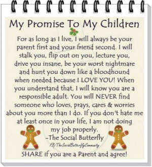 Promise to my Children
