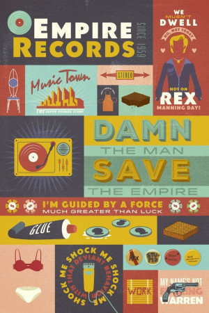 Empire Records by RONLEWHORN