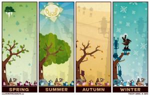 The Four Seasons Of Traffic