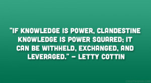 Quotes About Knowledge Is Power Quotes about knowledge and