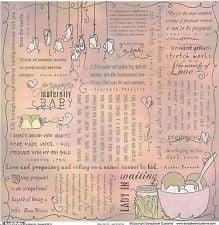 scrapbook customs maternity quotes scrapbooking paper 35615 pregnancy ...